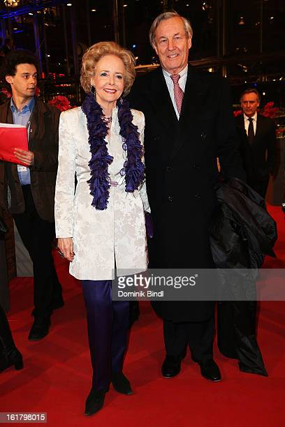 Isa von Hardenberg and Alexander von Hardenberg attends the Closing Ceremony of the 63rd Berlinale International Film Festival at Berlinale Palast on...
