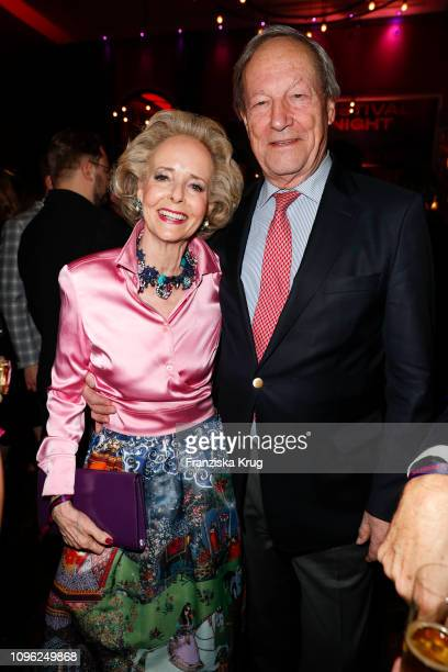 Isa von Hardenberg and Alexander von Hardenberg during the BUNTE BMW Festival Night at Restaurant Gendarmerie on February 8 2019 in Berlin Germany
