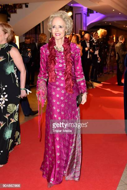 Isa von Hardenberg attends the 117th Press Ball on January 13 2018 in Berlin Germany