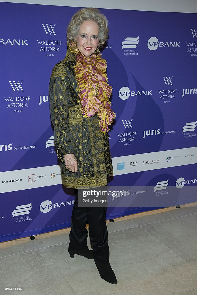 Isa von Hardenberg attends the 1st Charity Dinner by Federal Trust Fund Magnus Hirschfeld at Waldorf Astoria on May 25, 2013 in Berlin, Germany.
