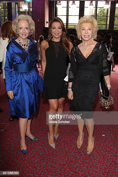 Isa von Hardenberg Ute Henriette Ohoven and her daughter Chiara Ohoven attend the 'Gala Abend mit Arthur Cohn' as part of Filmfest Muenchen 2014 at...
