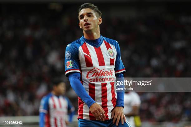 Isaac Brizuela of Chivas looks on during the 3rd round match between Chivas and Toluca as part of the Torneo Clausura 2020 Liga MX at Akron Stadium...