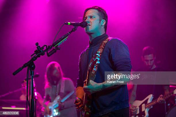 Isaac Brock of Modest Mouse performs at The Helix on July 10, 2015 in Dublin, , Ireland.
