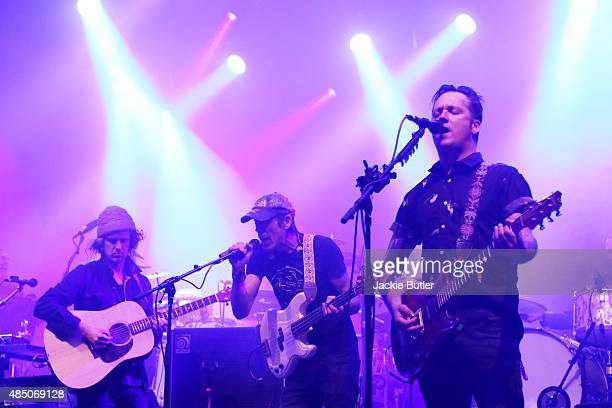 Isaac Brock of Modest Mouse performs during MusicFest NW at Tom McCall Waterfront Park on August 23 2015 in Portland Oregon