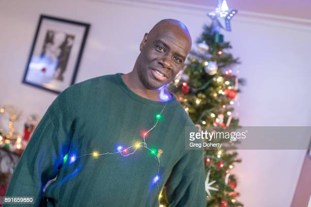 Isaac C Singleton Jr attends The Bay Ugly Sweater And Secret Santa Christmas Party at Private Residence on December 12 2017 in Los Angeles California