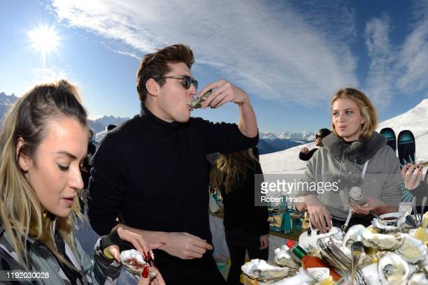 Isaac Carew attends Casamigos in the Snow on December 04 2019 in Verbier Switzerland