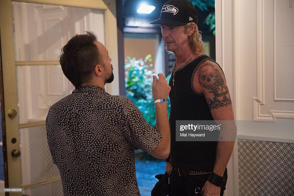 Isaac Carpenter and Duff McKagan of Guns and Roses talk
