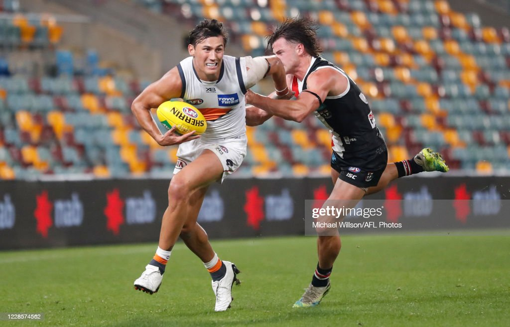 AFL Rd 18 - St Kilda v GWS : News Photo