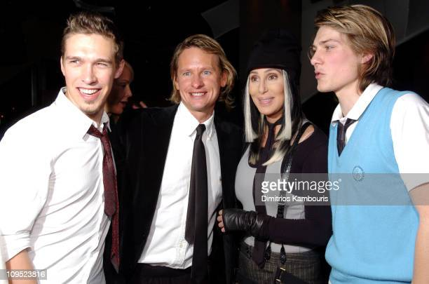 Isaac Hanson Carson Kressley from 'Queer Eye For the Straight Guy' Cher and Taylor Hanson