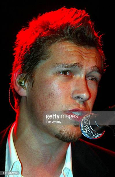 Isaac Hanson during Hanson in Concert London at Carling Live in the N1 Centre in London United Kingdom