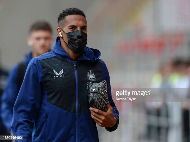 Isaac Hayden of Newcastle United FC during the Pre Season Friendly between Rotherham United and Newcastle United at AESSEAL New York Stadium on July...
