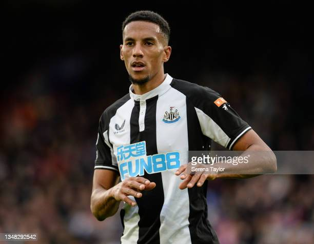 Isaac Hayden of Newcastle United FC during the Premier League match between Crystal Palace and Newcastle United at Selhurst Park on October 23, 2021...