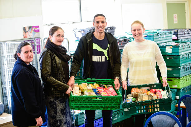Isaac Hayden Visits A Local Newcastle Foodbank Photos And