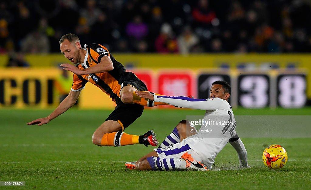 Hull City v Newcastle United - EFL Cup Quarter-Final
