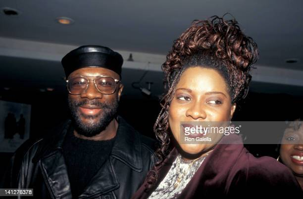 Isaac Hayes and Loretta Devine at the Premiere of 'The Preacher's Wife', Ziegfeld Theater, New York City.