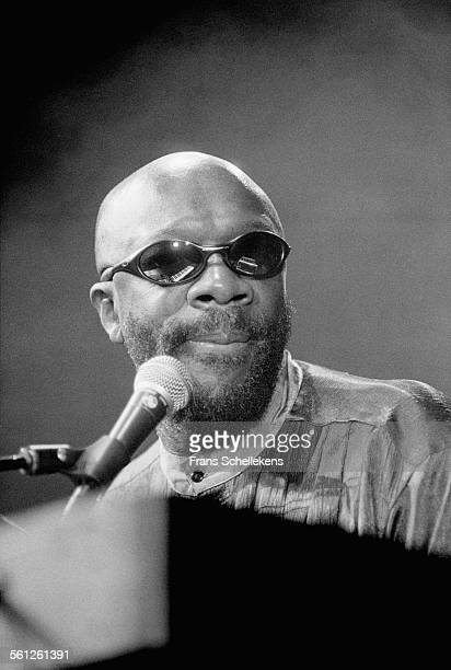 Isaac Hayes, keyboard and vocals, performs on July 13th 1996 at the North Sea Jazz Festival in the Hague, Netherlands.