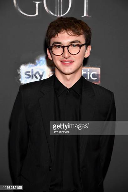 Isaac Hempstead Wright arrives at the Game of Thrones Season Finale Premiere at the Waterfront Hall on April 12 2019 in Belfast UK