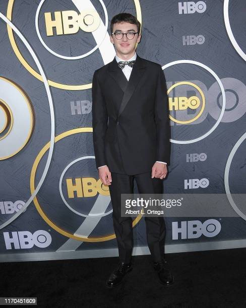 Isaac Hempstead Wright arrives for the HBO's Post Emmy Awards Reception held at The Plaza at the Pacific Design Center on September 22, 2019 in West...