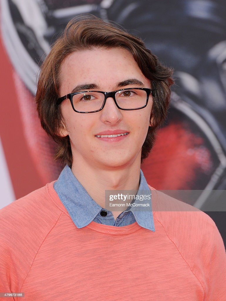 Isaac Hempstead Wright attends the European Premiere of Marvel's 'Ant-Man' at Odeon Leicester Square on July 8, 2015 in London, England.