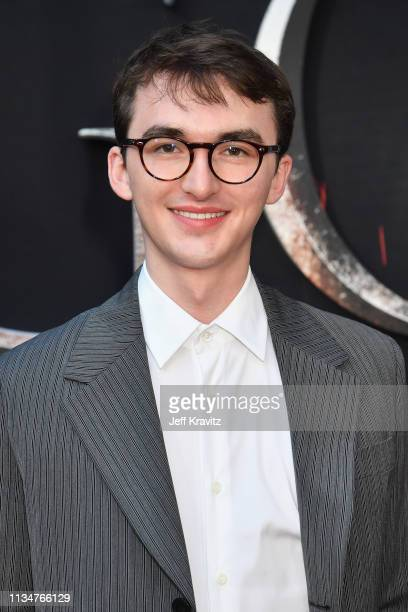 Isaac Hempstead Wright attends the Game Of Thrones Season 8 NY Premiere on April 3 2019 in New York City