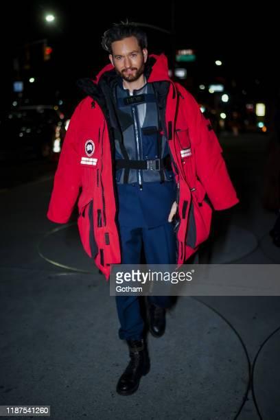 Isaac HindinMiller attends the 2019 Guggenheim International Gala on November 13 2019 in New York City