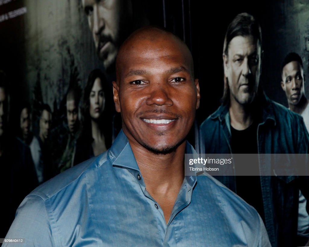 Isaac Keys attends the premiere of Crackle's 'The Oath' at Sony Pictures Studios on March 7, 2018 in Culver City, California.