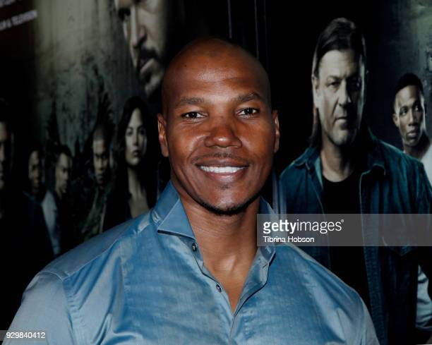 Isaac Keys attends the premiere of Crackle's 'The Oath' at Sony Pictures Studios on March 7 2018 in Culver City California