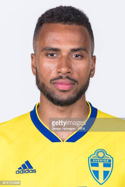 Isaac Kiese Thelin of Sweden poses during the official FIFA World Cup 2018 portrait session on June 13 2018 in Gelendzhik Russia