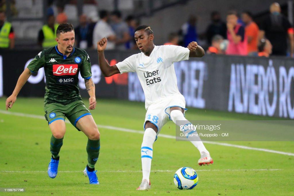Olympique de Marseille v SSC Napoli Pre-Season Friendly : Photo d'actualité