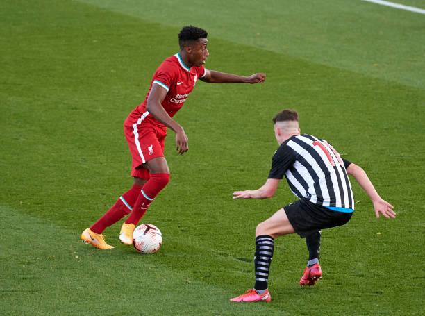 GBR: Liverpool v Newcastle United - U18 Premier League