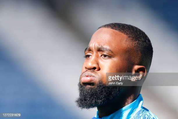 Isaac Mbenza of Huddersfield Town during the Sky Bet Championship match between Huddersfield Town and Norwich City at John Smith's Stadium on...