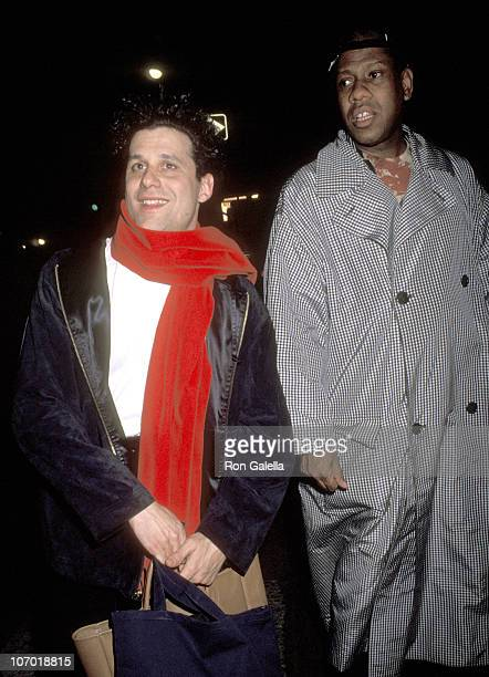 Isaac Mizrahi and Andre Leon Talley during Isaac Mizrahi and Andre Leon Talley Sighting at Barroco Restaurant April 11 1991 at Barroco Restaurant in...