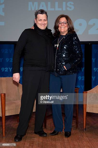 Isaac Mizrahi and Fern Mallis attend 'Isaac Mizrahi in Conversation with Fern Mallis' at 92nd Street Y on February 4 2014 in New York City