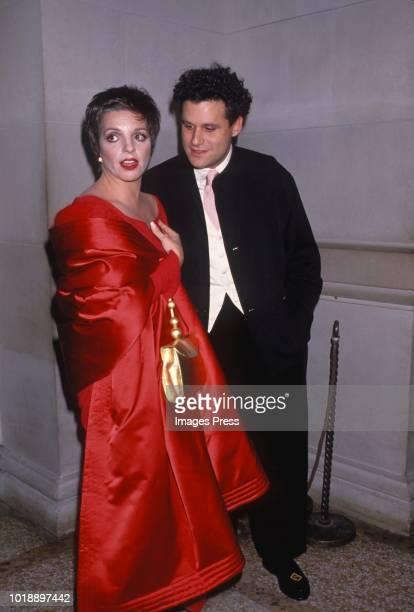 Isaac Mizrahi and Liza Minnelli circa 1989 in New York