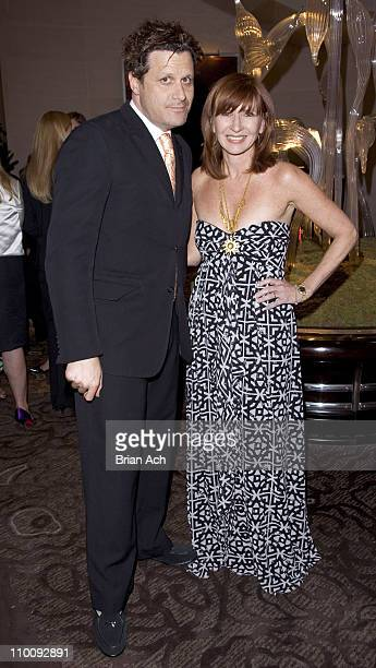 Isaac Mizrahi and Nicole Miller during The Tenth Annual ASPCA Bergh Ball Tails of Time at Mandarin Oriental in New York City New York United States