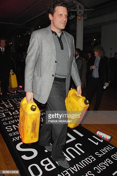 Isaac Mizrahi attends CHARITY WATER 2nd Annual CHARITY BALL at Metropolitan Pavillion NYC on December 17 2007 in New York City