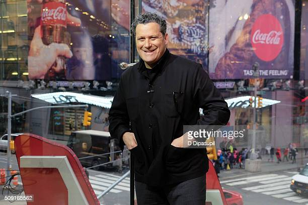 Isaac Mizrahi visits Extra at their New York studios at HM in Times Square on February 9 2016 in New York City