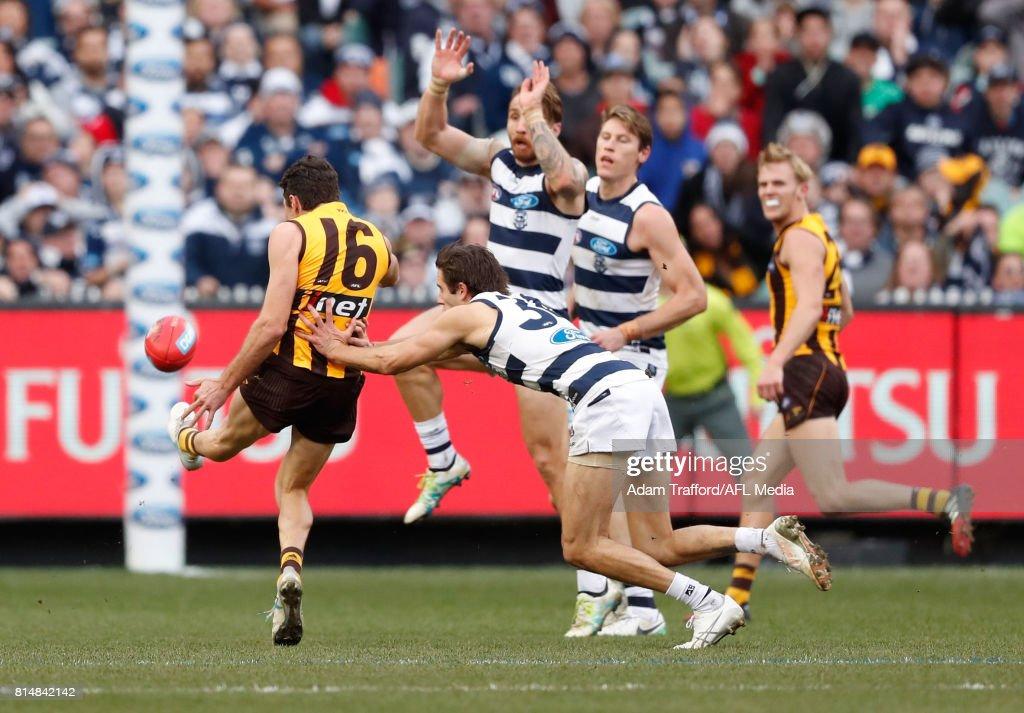 AFL Rd 17 - Geelong v Hawthorn : ニュース写真