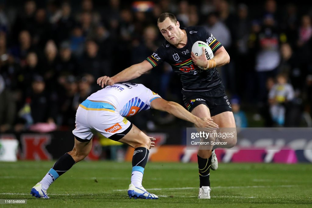 NRL Rd 17 - Panthers v Titans : News Photo