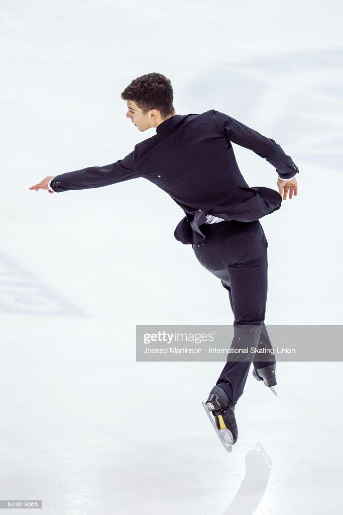 ISU Junior Grand Prix of Figure Skating - Riga : News Photo