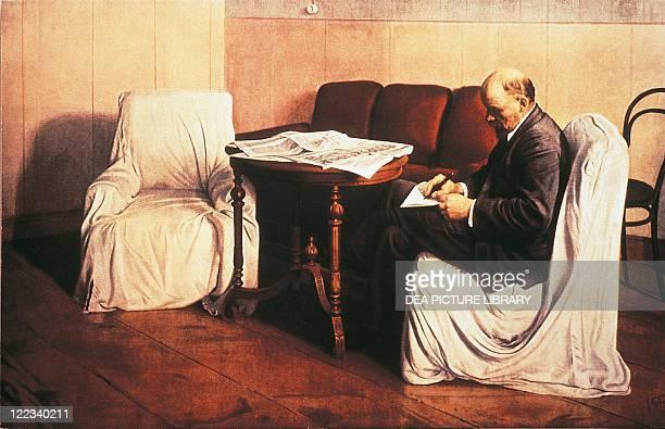 Isaak Izrailevich Brodsky , Lenin in the Smolny Institute, 1930.