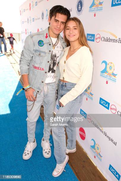 Isaak Presley and Mackenzie Ziegler attend UCLA Mattel Children's Hospital's 20th Annual Party on the Pier at Pacific Park – Santa Monica Pier on...