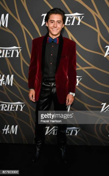 Isaak Presley attends Variety Power of Young Hollywood at TAO Hollywood on August 8 2017 in Los Angeles California