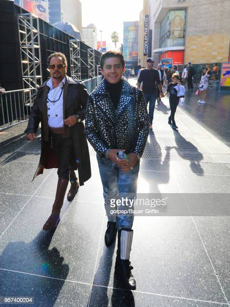 Isaak Presley is seen on May 10 2018 in Los Angeles California