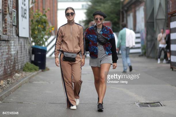 Isabeau Van Maastricht and Cindy Stegeman during the Bread & Butter by Zalando 2017 at arena Berlin on September 3, 2017 in Berlin, Germany.
