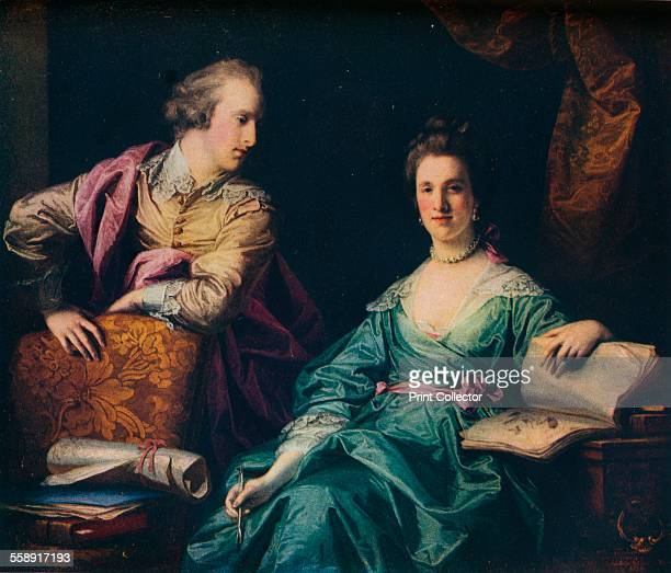 'Isabel and Thomas Crathorne' 1767 Painting held in The Huntington Library From The Connoisseur Volume LXXXIII edited by C Reginald Grundy [The...