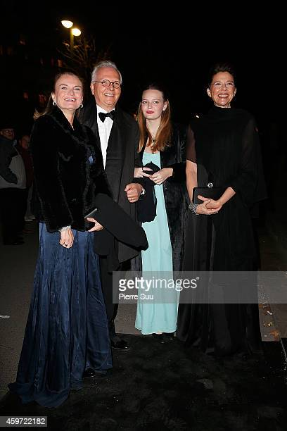 Isabel Beatty Annette Bening and guests attend the 2014 Debutantes Ball at Theatre National de Chaillot on November 29 2014 in Paris France