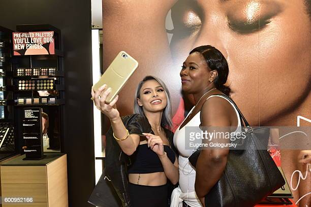 Isabel Bedoya attends the MAC Cosmetics Event With Isabel Bedoya At MAC Harlem on September 8 2016 in New York City