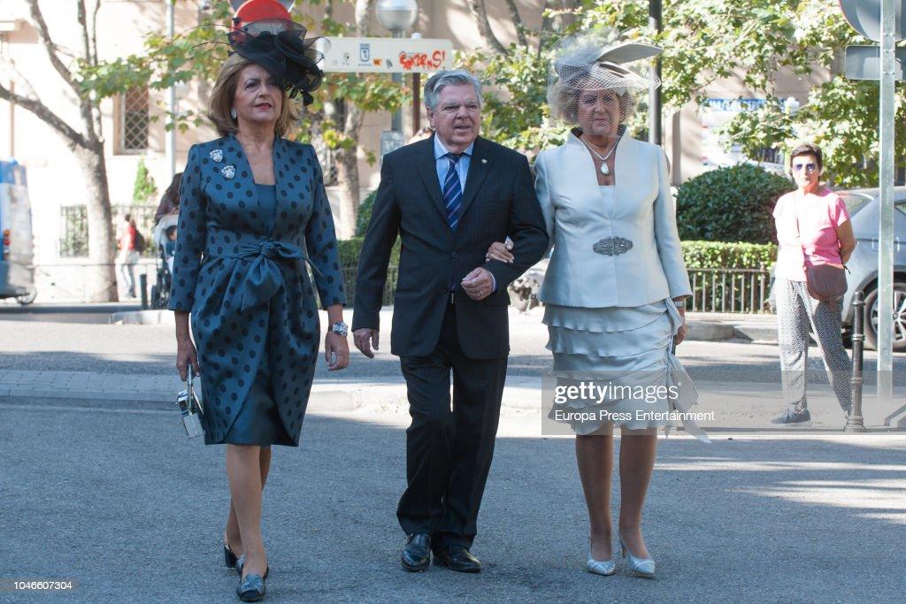 Fernando Fitz-James Stuart and Sofía Palazuelo Wedding in Madri : News Photo