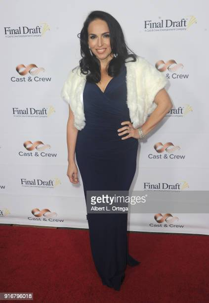 Isabel Cueva arrives for the 13th Annual Final Draft Awards held at Paramount Theatre on February 8 2018 in Hollywood California